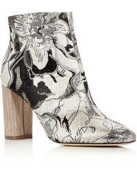 Pour La Victoire - Rickie Brocade High Heel Booties - Lyst