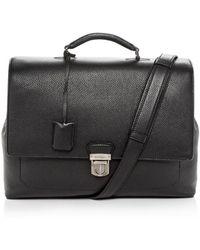 Ferragamo - Firenze Leather Briefcase - Lyst