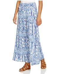 Surf Gypsy - Wide Leg Swim Cover-up Trousers - Lyst