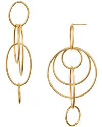 Argento Vivo - Orbital Drop Earrings - Lyst