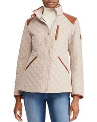 b6f3bdf34e2 Lyst - Polo Ralph Lauren Diamond-Quilted Vest in Blue