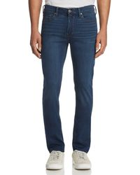 PAIGE - Lennox Skinny Fit Jeans In Crowe - Lyst