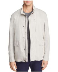 Cole Haan - J540 Mock Neck Rain Jacket - Lyst