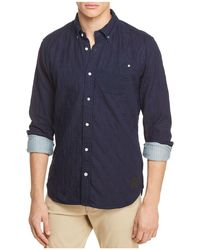 Scotch & Soda | Double-weave Sport Shirt | Lyst