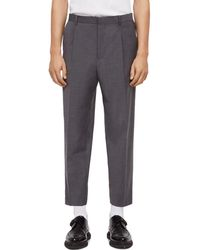 AllSaints - Siris Slim Fit Trousers - Lyst