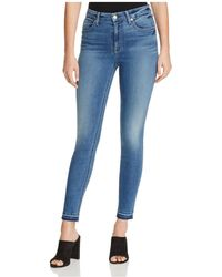 7 For All Mankind - B(air) The Ankle Skinny Jeans In Sunset - Lyst