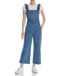 b25c46dece5 Lyst - Blank NYC One-shoulder Denim Jumpsuit in Blue