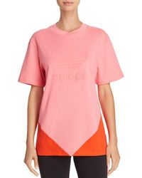 adidas Originals - Colorado Color-block Logo Tee - Lyst