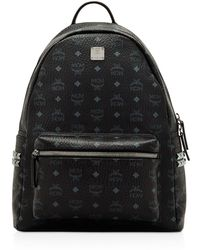 MCM - Visetos Side Stud Medium Backpack - Lyst