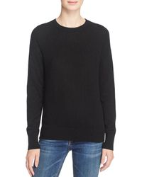 690703e5e16c Equipment - Women's Sloane Solid Cashmere Pullover - Black - Size Small -  Lyst