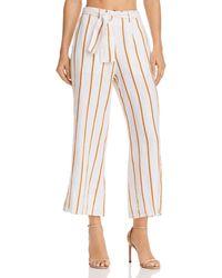 Faithfull The Brand - Como Striped Crop Pants - Lyst