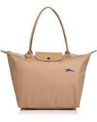 Longchamp - Le Pliage Club Large Shoulder Tote - Lyst