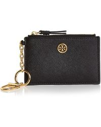 Tory Burch - Robinson Leather Card Case - Lyst
