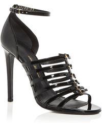 eb46f9d124ed Ferragamo - Women s Jesolo Strappy High-heel Sandals - Lyst