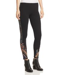 Johnny Was - Nala Embroidered Leggings - Lyst