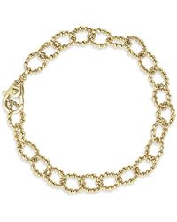 Lagos - Caviar Gold Collection 18k Gold Beaded Chain Bracelet - Lyst