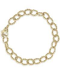 Lagos - Caviar Gold Collection 18k Gold Link Bracelet - Lyst