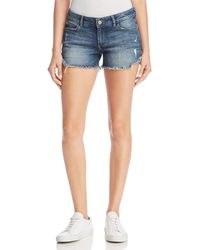 DL1961 - Karlie Cutoff Denim Shorts In Bluegrass - Lyst