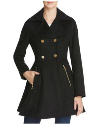 Laundry by Shelli Segal | Fit And Flare Double-breasted Coat | Lyst