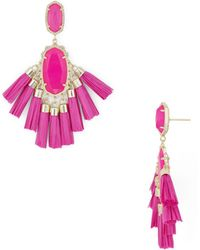 Kendra Scott - Kristen Tassel Drop Earrings - Lyst