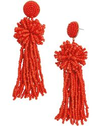 BaubleBar - Rishita Tassel Drop Earrings - Lyst