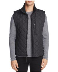 Marc New York - Newel Quilted Vest - Lyst