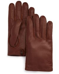 Bloomingdale's - The Men's Store Leather Gloves - Lyst
