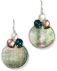 Ippolita - Clear Quartz & Shell Drop Earrings - Lyst