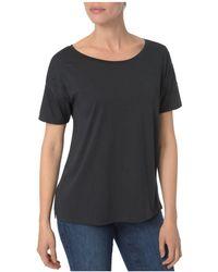 NYDJ - Embellished-sleeve Top - Lyst