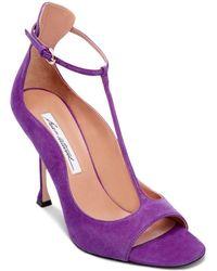 Brian Atwood - Women's Samantha T-strap High-heel Sandals - Lyst
