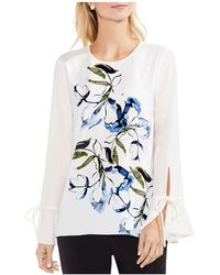 Vince Camuto - Flare-sleeve Top - Lyst