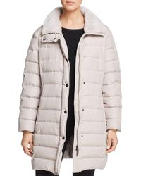 Basler - Quilted Puffer Coat - Lyst