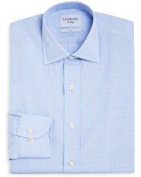 d40b39cd64a4 Ledbury - Tauton Check Slim Fit Dress Shirt - Lyst