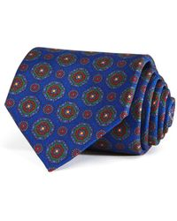 Drake's - Alternating Medallion Classic Tie - Lyst