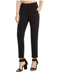 BCBGeneration - Faux Fly Trousers - Lyst