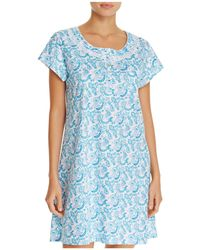 Eileen West - Cap Sleeve Short Sleepshirt - Lyst