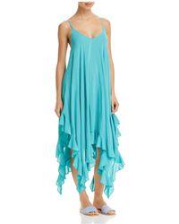 Bleu Rod Beattie | Handkerchief-hem Dress Swim Cover-up | Lyst