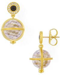 Freida Rothman - Orbit Drop Earrings - Lyst