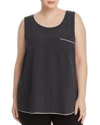 53d67d9f48 Eileen Fisher - Pajama-style Silk Tank - Lyst