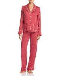 Splendid - Piped Pajama Set - Lyst