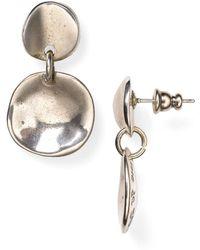 Uno De 50 - Scales Drop Earrings - Lyst
