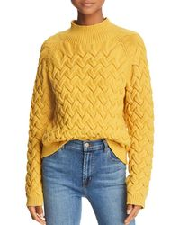 The East Order - Adele Cable-knit Jumper - Lyst