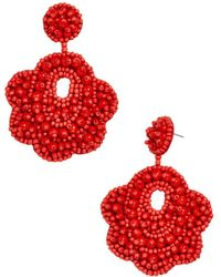 BaubleBar - Merralina Floral Drop Earrings - Lyst