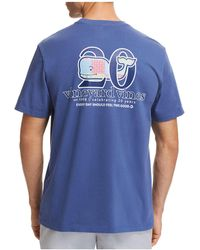 Vineyard Vines - Patchwork Whale Logo Tee - Lyst