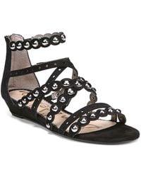 95c70eab788b Sam Edelman - Women s Dustee Studded Suede Gladiator Sandals - Lyst