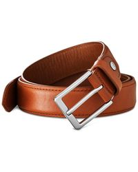 Shinola - Men's Brindle Leather Bombe Tab Belt - Lyst