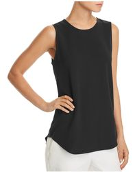 Theory - Bringam Crepe Top - Lyst