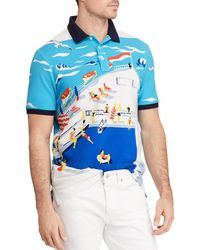 Polo Ralph Lauren - Newport Cruise Classic Fit Mesh Polo Shirt - Lyst