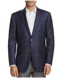 Cardinal Of Canada - Cardinal Birdseye With Plaid And Windowpane Regular Fit Sport Coat - Lyst