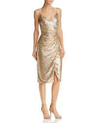 Black Halo - Bowery Sequined Dress - Lyst